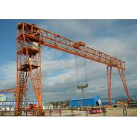 Buy cheap Outdoor 100 Ton Double Girder Gantry Crane , Material Handling Equipment 7.5-31.5m Span from wholesalers