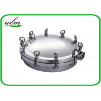 Buy cheap Metal Stainless Steel Manhole Cover / Tank Manhole Cover For Pressure Vessel product