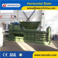 Buy cheap China Waste Cardboards Baler Horizontal Waste Paper Baling Press Compactor from wholesalers