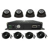 Buy cheap 4 Channel School Bus Surveillance Vehicle Security Camera System 720P MDVR Kits from wholesalers