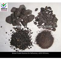 Buy cheap Brown Fused Alumina with high purity for the  material of  blast furnace \ hot air furnace series combination brick from wholesalers