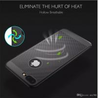 Buy cheap Explosion models Apple 7plus red cooling phone shell iPhone 6s hollow matte full package hard shell protective cover from wholesalers