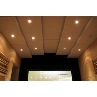 Buy cheap Soundproofing Materials Cheap Polyester Fiber Wooden Acoustic Panel Price from wholesalers