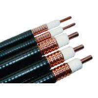 Buy cheap 7/8 Inches  RF Coaxial Cable with PE Jacket  Smooth Copper Tube RF Feeder Cable product