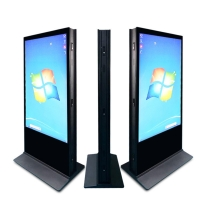 """Buy cheap 280W 55"""" Tactile Interactive Totem Kiosk Floor Standing 4020x2160 product"""