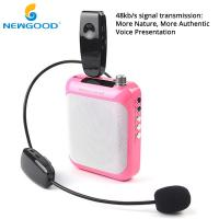 Buy cheap UHF Megaphone Wireless Headset Microphone Loud Speaker with Sound Voice Signal Wall through Free Penetration from wholesalers