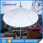 Buy cheap 3.7m ku band prime focus small size aluminum satellite tv dish antenna from wholesalers