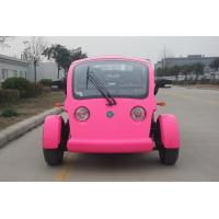 Buy cheap Legal Driving 4 Person Golf Cart , 48V Battery Operated Golf Buggies With Seat Adjustable from wholesalers