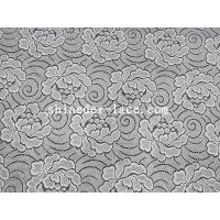 Buy cheap Simple / Elegant Flower Pattern Cotton Nylon Lace Fabric For Fashion Mash SYD-0171 from wholesalers