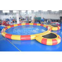 Buy cheap Round Large Inflatable Water Pool With Platform For Water Walking Ball from wholesalers