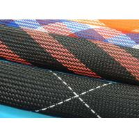 Buy cheap Polyester Heat Shrinkable Braided Sleeving , Cable Protection Sleeve High Density from wholesalers