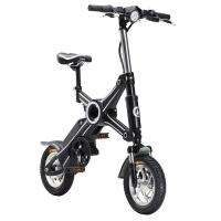 350 watt adult foldable electric scooter bike removable battery 25km max speed 106130689. Black Bedroom Furniture Sets. Home Design Ideas