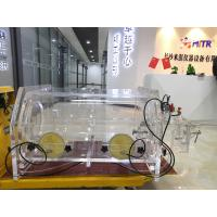 Buy cheap Noble Gas Laboratory Vacuum Glove Box With Pressure Anti Climate Changing from wholesalers