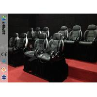 Buy cheap Mini 7D Movie Theater, 6 / 9 / 12 / 18 / 24 Persons XD Motion Cinema With Flat Screen product