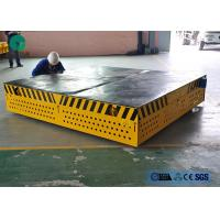 Buy cheap 10t double motor drive 4 wheel dolly on cement floor for roll handling from wholesalers