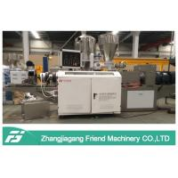 Buy cheap 250kg/H Pvc Pelletizing Machine , Soft Hard PVC Master Batch Making Machine from wholesalers