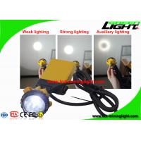 Buy cheap Hard Hat Rechargeable Mining Headlamp 3 Watt With 4 Level Lighting Mode from wholesalers