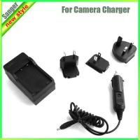 Buy cheap car charger for camera Nikon battery ENEL12 from wholesalers