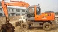 Buy cheap ZX160 Wheel Excavator , Japanese used excavator for sale from wholesalers