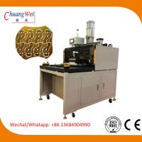 Buy cheap High Efficiency PCB Punching Machine For LED Panel Boards With Large Workarea 580*580mm from wholesalers