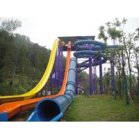 Buy cheap Funny High Speed Swimming Pool  Water Slides For Holiday Resort Visitors product