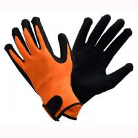 Buy cheap Construction Nitrile Work Gloves , High Safety Fully Coated Nitrile Gloves from wholesalers