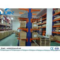 Buy cheap Heavy Duty Cantilever Warehouse Racks , Adjustable Q235B Steel Cantilever Racking from wholesalers