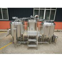 Buy cheap Plc Control Craft Beer Making Equipment , Commercial Beer Distillery Equipment from wholesalers