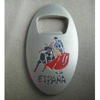 spanish bullfight custom bottle openers for souvenirs of wall kim. Black Bedroom Furniture Sets. Home Design Ideas