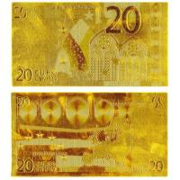 Buy cheap Euro Banknotes Gold 20 Euro Money Pater from wholesalers