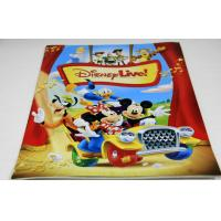 Buy cheap Custom CMYK Disney Small Magazine Printing Services With 300gsm glossy art paper Cover from wholesalers