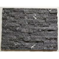 Buy cheap Black Galaxy Culture Stone,China Granite Stone Cladding,Natural Zclad Stacked Stone,Black Granite Stone Veneer Panels from wholesalers