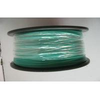 Buy cheap 1.75mm Green Transparent ABS Filament For Reprap 3D Printing , Grade A from wholesalers