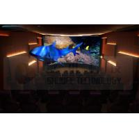 Buy cheap Flat Screen 5D Movie Theater with 7.1 Audio System Install In Exhibition Hall product