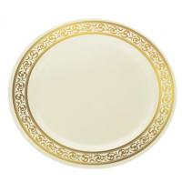 Buy cheap White and Clear Plastic Plates  Colors Wedding from wholesalers