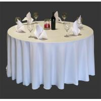 Buy cheap White Round Tablecloths Seamless product