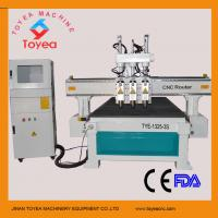 Buy cheap Wood door making machine with simple automatic tool changer,square linear rail TYE-1325-3S from wholesalers
