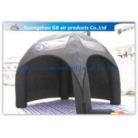 Buy cheap Advertising Inflatable Air Tent , Black Blow Up Spider Dome Tent product
