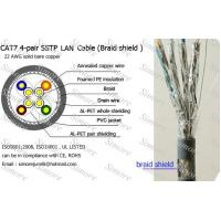 Buy cheap CAT7 LAN Cable SSTP for NETWORK,Copper Conductor from wholesalers