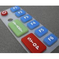 Buy cheap Rubber Keypad with Different Colors from wholesalers