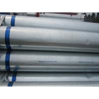 Buy cheap Customized ERW ASTM Hot-dip Galvanized Steel Pipe for Structure , Water Pipe from wholesalers