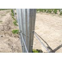 Buy cheap Q235 Steel Wine Garden Orchard Trellis Systems Metal Plant Stakes For Outdoor Plants from wholesalers