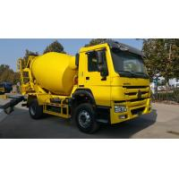 Buy cheap SINOTRUK HOWO 6 Wheeler 6m3 Concrete Mixer Truck With Good Price For Sale from wholesalers