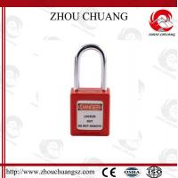 Buy cheap Hot sales colorful 38mm Shackle Xenoy Safety Padlock with key system Lock from wholesalers