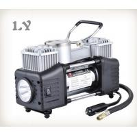Buy cheap Double cylinder with light 12V mini air compressor car tyre inflator from wholesalers