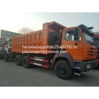 Buy cheap Beiben camion benne 25ton quarry tipper truck 10 wheel dumper for sale from wholesalers