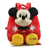 Buy cheap 14inch Red Mickey Mouse Kid Backpack School Bags , For Children and Promotion Gifts from wholesalers