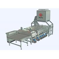Buy cheap PLC control 1600 mm Glass Washing Machine Before Silk Screen Printing Processing from wholesalers