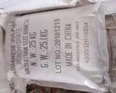 Buy cheap 98% Min Purity Manganese Sulfate Powder Used For Electrolytic Production from wholesalers