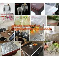 Buy cheap Disposable Tablecloths Plastic Tablecloths Thicken Tablecloths White Film Transparent Waterproof Table Cloth BAGEASE from wholesalers